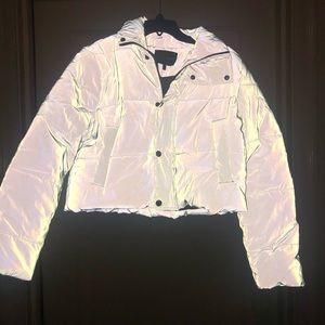 Fashion Nova reflective jacket (NEW)